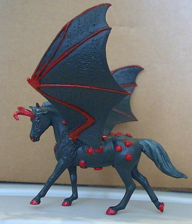 Matthaias Demon Pegasus By Elkstarranchartwork On Deviantart