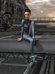 Josie - Battle Suit by silverhammer