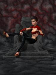 Josie - The Queen by silverhammer