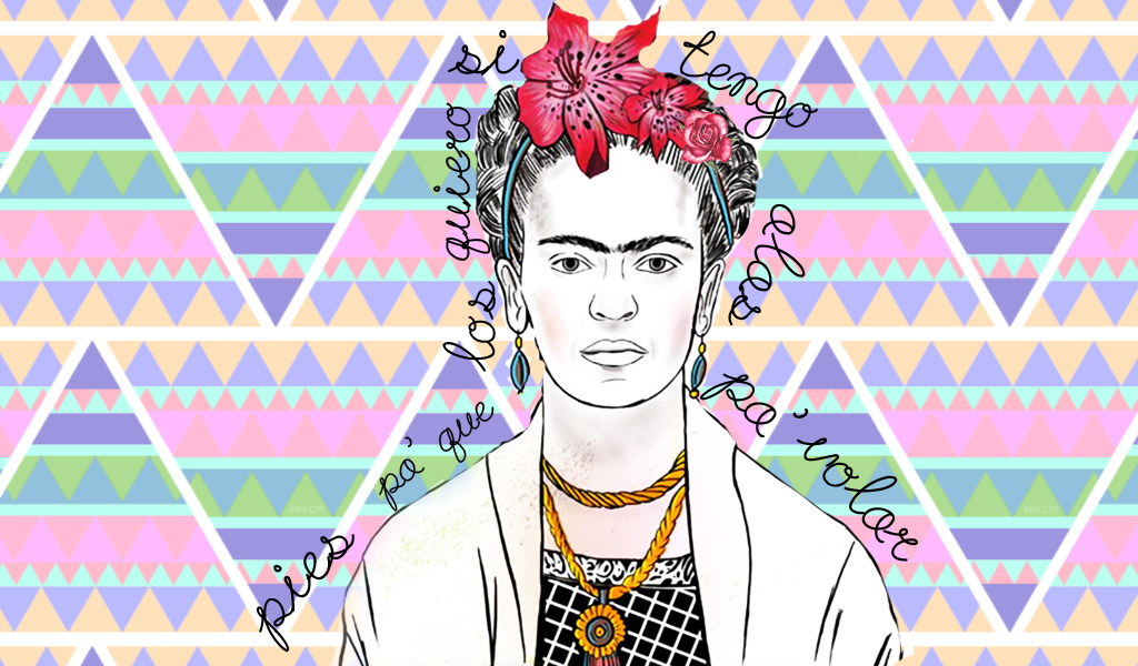 Frida Kahlo Wallpaper By Ximeecarteer On Deviantart