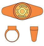 Applejack Lantern Ring by VincenttheCrow