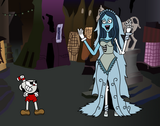 Cuphead in ''Death Do Us Part'' by VincenttheCrow