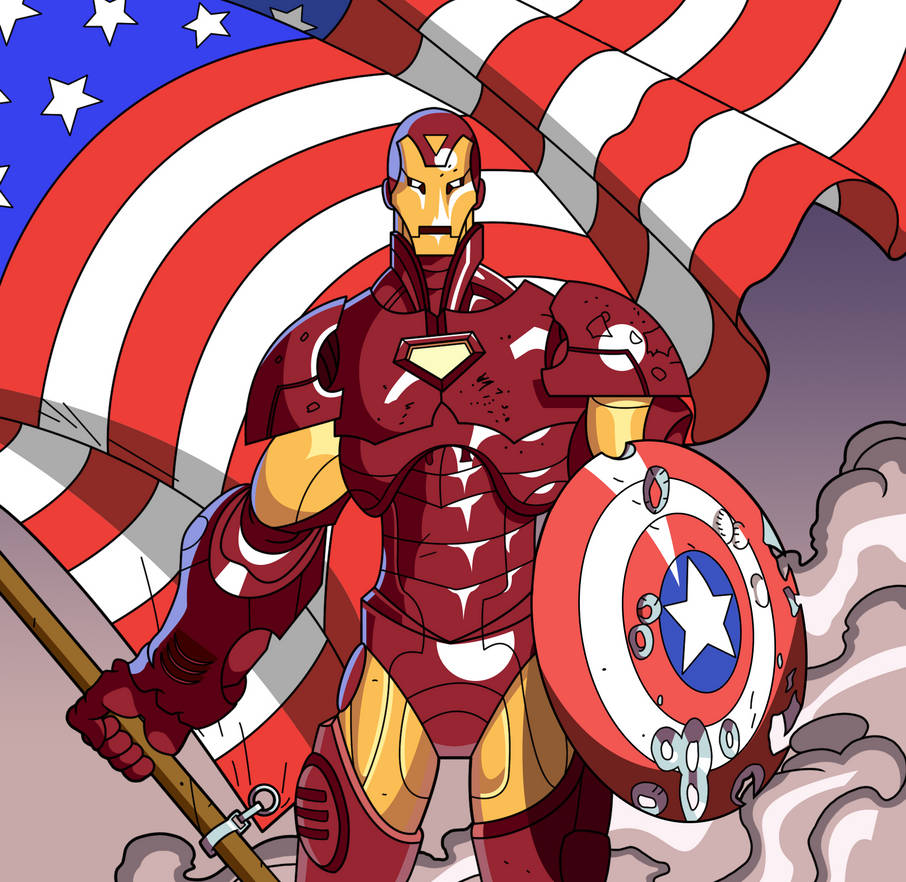 Civil War Iron Man by VincenttheCrow