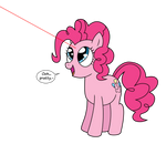 Pinkie Finds a Red Dot by VincenttheCrow