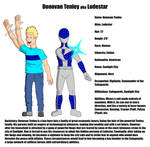 Might of Many Bio: Lodestar by VincenttheCrow