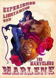 Marlene the Liontamer by Komical