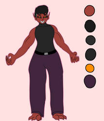 New Cakel Ref sheet by ThotBubble