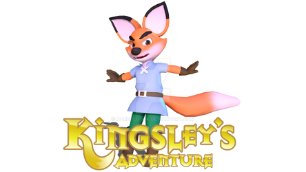 (MMD) Kingsley's Adventure