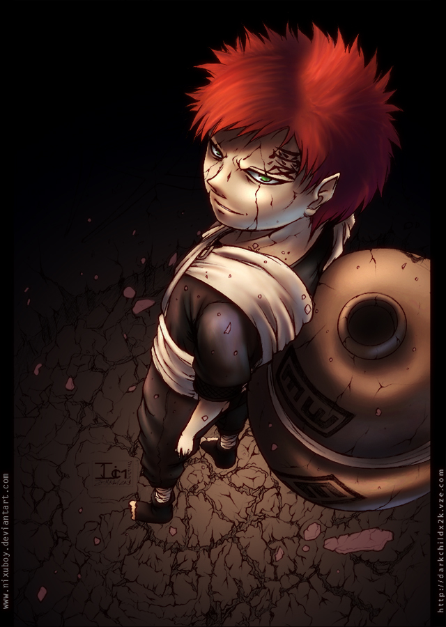 Spoiler  Gaara Of The Desert Evil