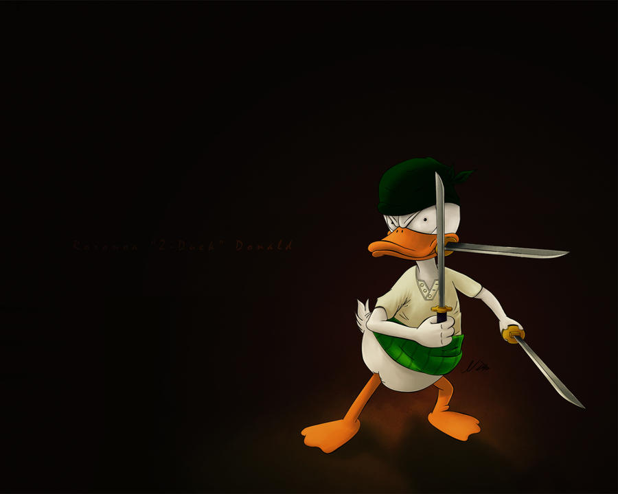 Roronoa___Z_Duck___Donald_by_nixuboy