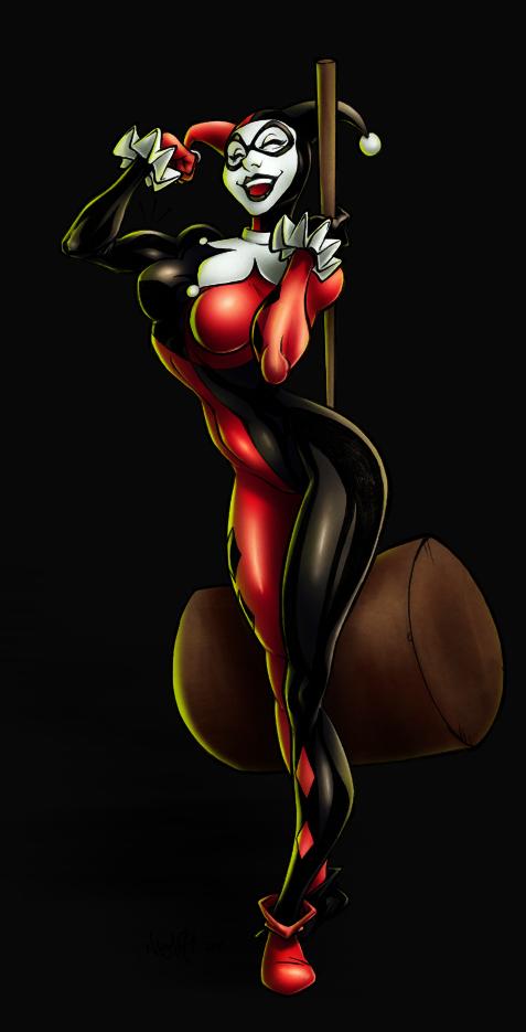 Harley Quinn by nixuboy