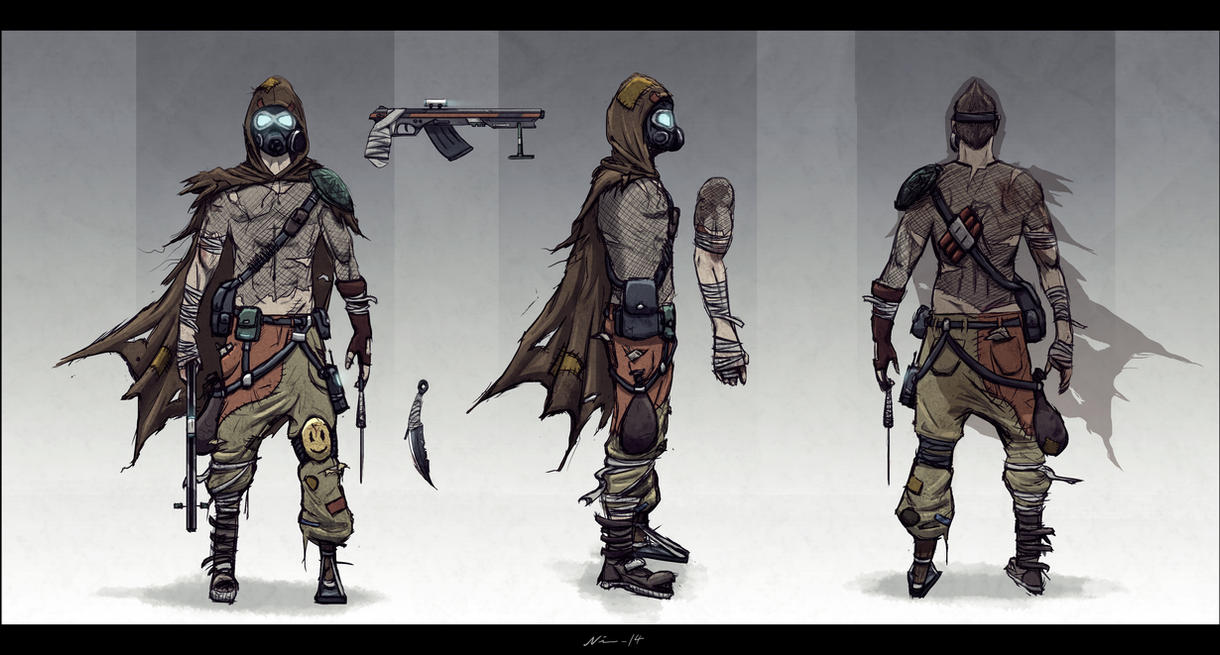 Fallout 4 Character Design Tutorial : Post apocalyptic trooper by nixuboy on deviantart