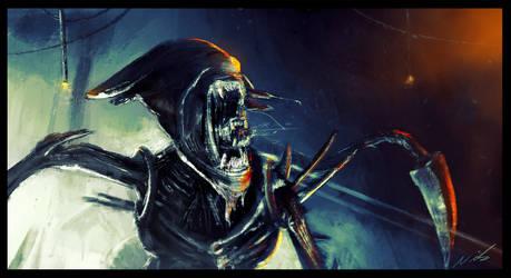 Alien Queen by nixuboy