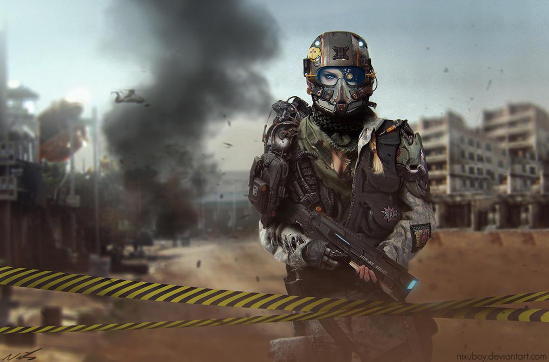 Zone patrol by nixuboy