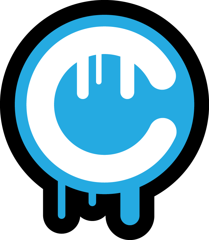 C Logo C Drip Logo by icehippie