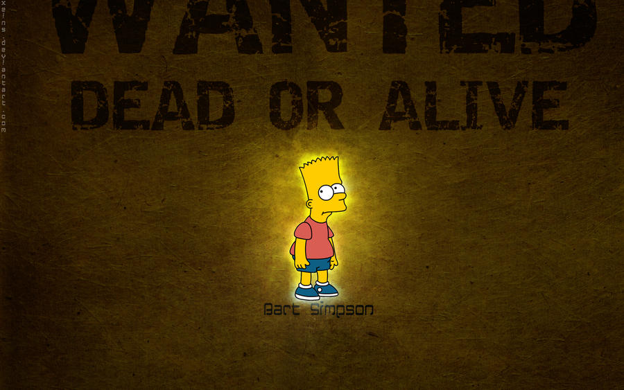 Bart Simpson Wallpaper By Xeins