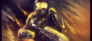Golden warrior by Xeins