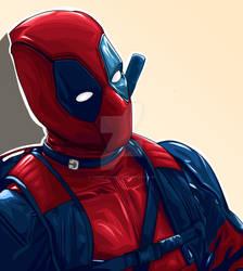 Oh ! It's Batman, sorry sorry Deadpool...