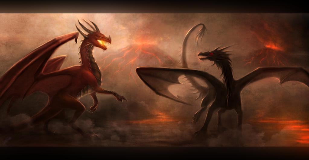 Confrontation by Enigmatic-Ki