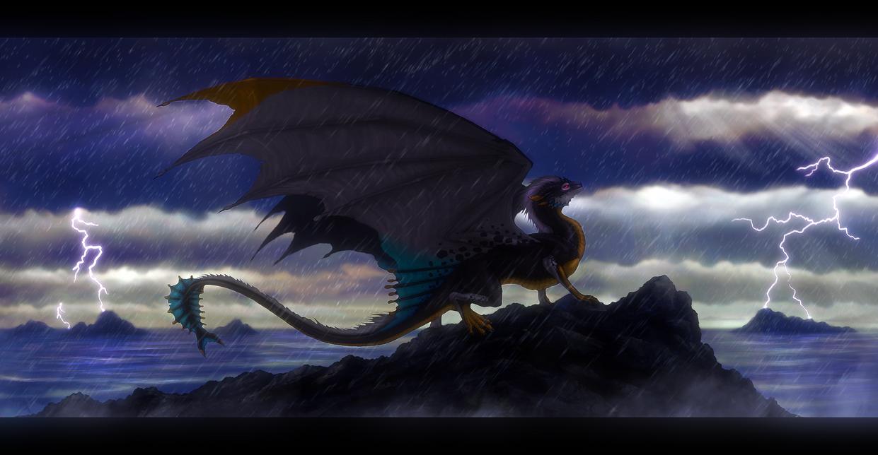 Stormy seas by Enigmatic-Ki