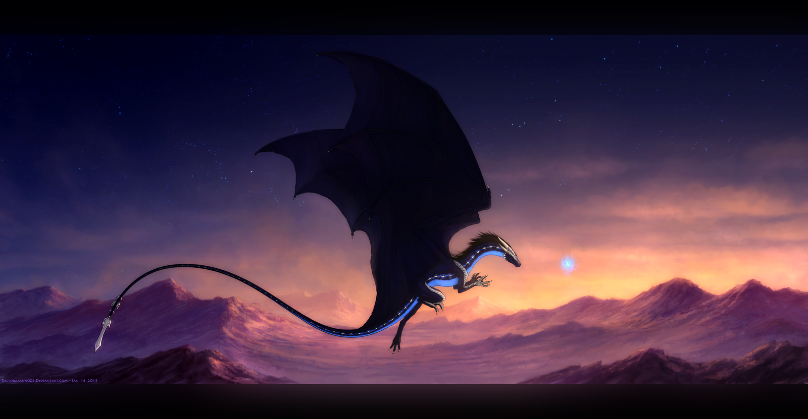 Afterglow ~ Speedpainting by Enigmatic-Ki