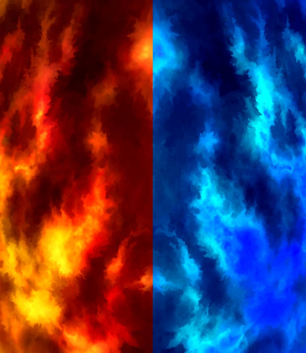 Fire And Ice By Deltorafann001 On DeviantART