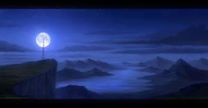 Nightfall - Speedpainting by Enigmatic-Ki