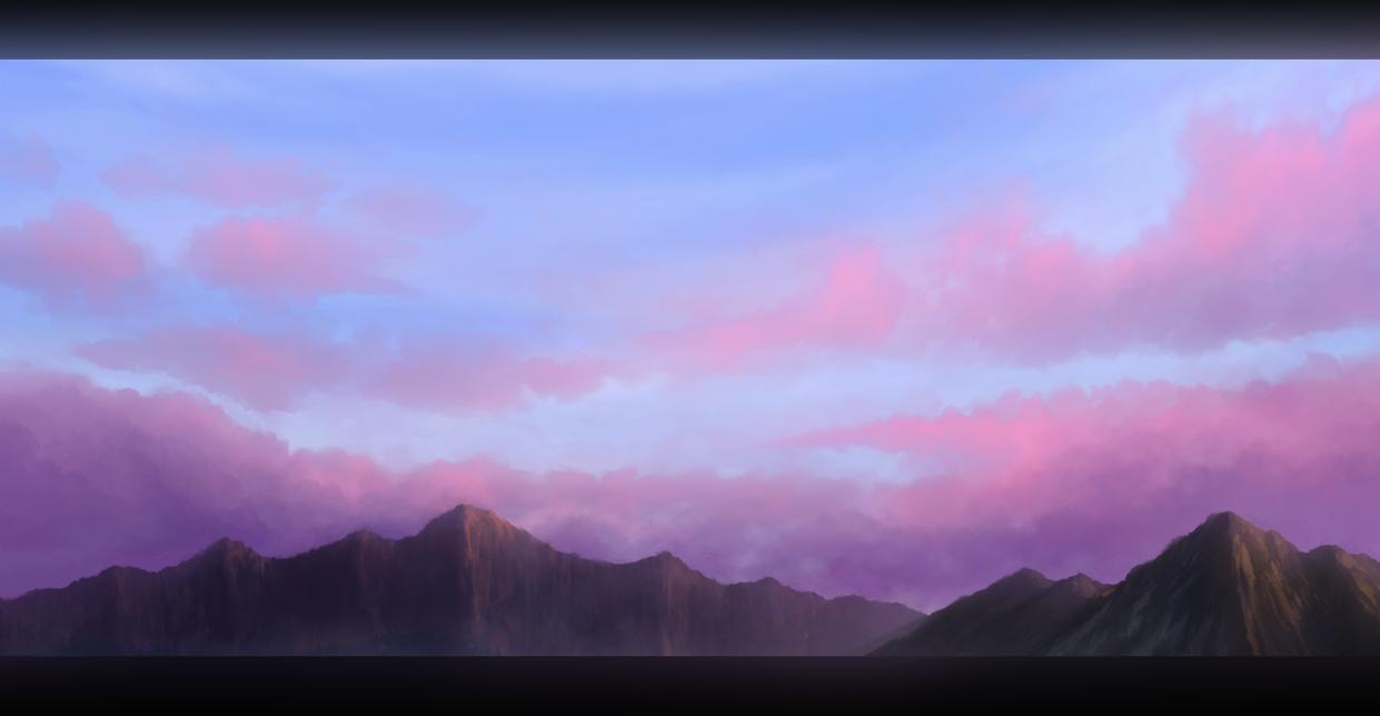 Dusky sky