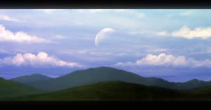 Lunar Meadow by Enigmatic-Ki