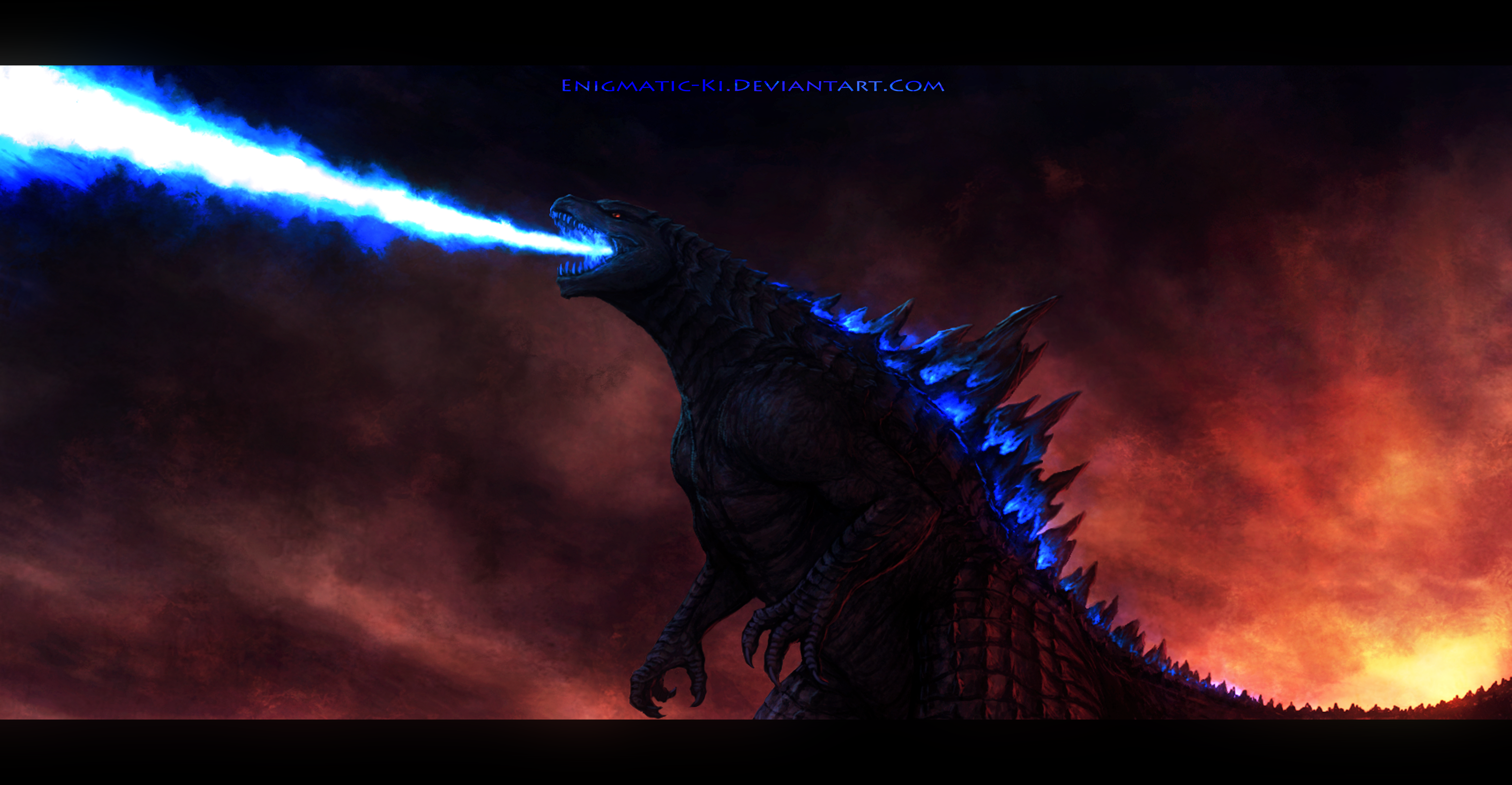 King of the Monsters by Enigmatic-Ki on DeviantArt