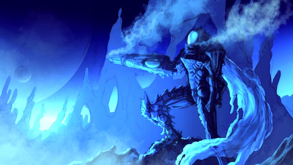 Icy Samus by Enigmatic-Ki