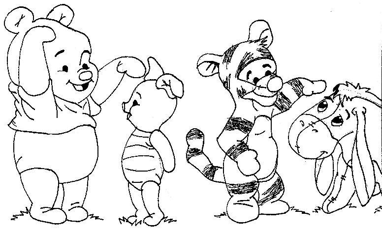 pooh bear and freinds by IDREAMNIGHTMARES on DeviantArt