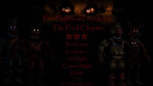 Five Nights at Freddy's 4 Title Screen Idea