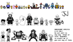 UNDERSWAP- All sprites