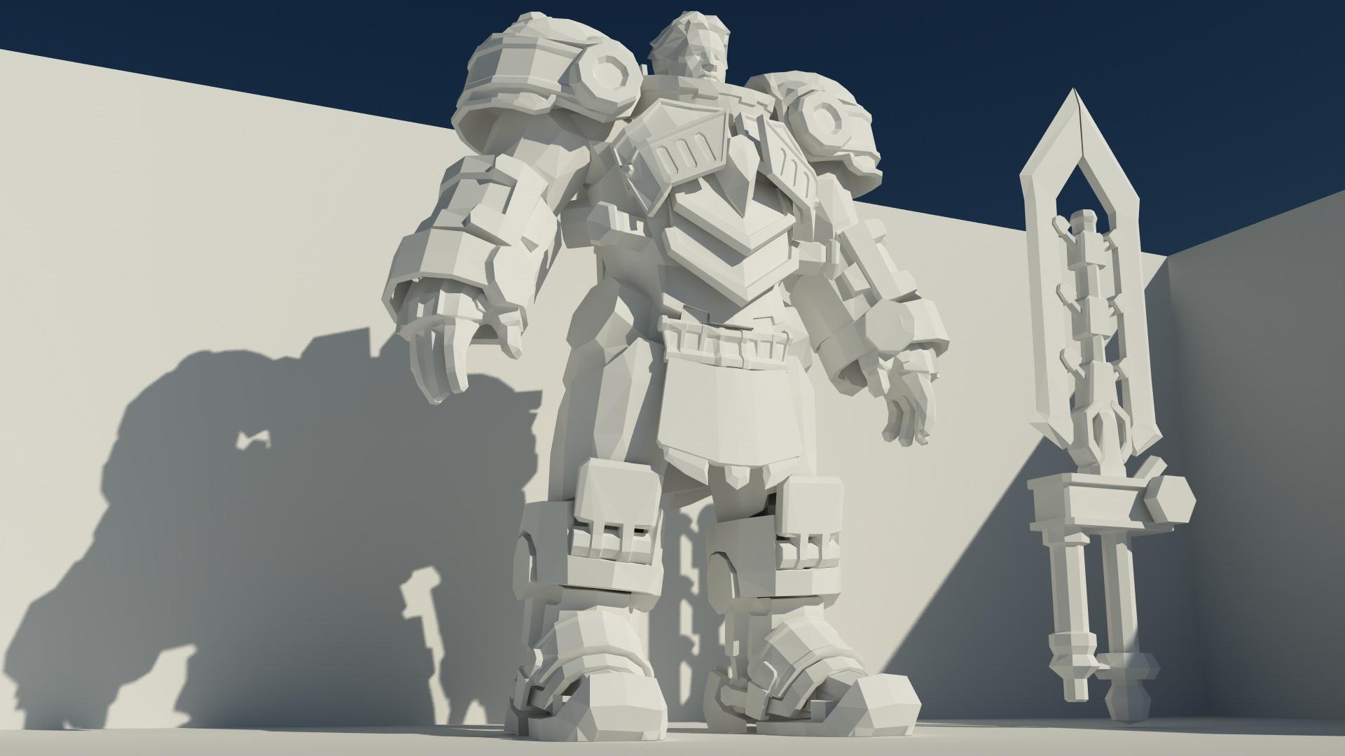 Steel Legion Garen Vray Render1 by M-Craft on DeviantArt