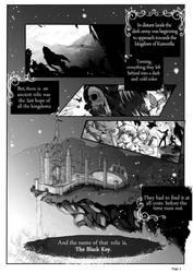THE BLACK KEY pg 1