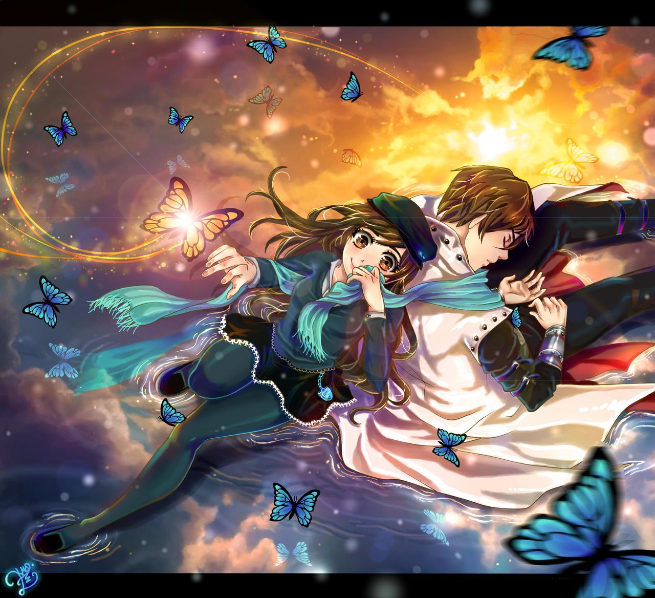 Despertar de mariposa del Sol by sonamy-25