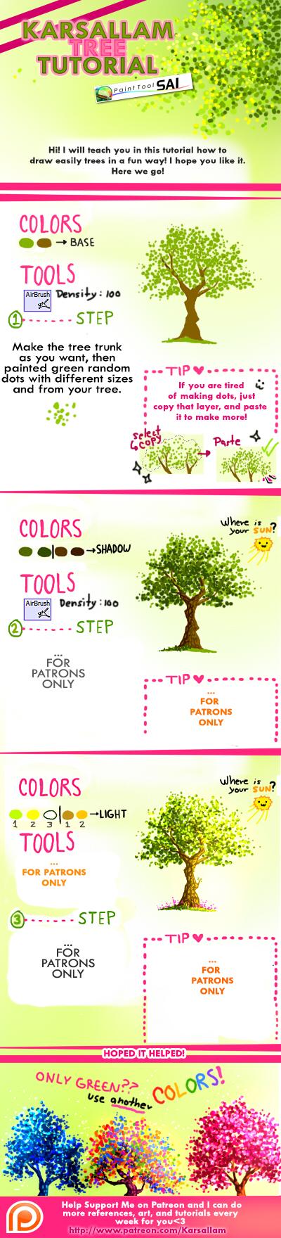 Trees Tutorial by kalisami