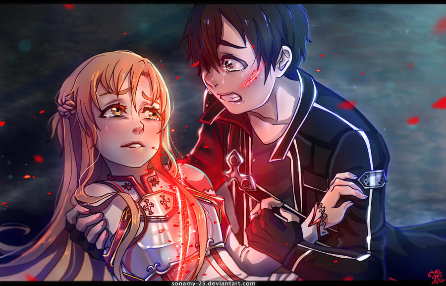That Animes Moment Sword Art Online By Kalisami On