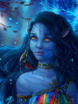 Mariana's Portrait (Avatar Style)
