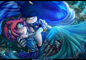 Sonamy- The Princess and the Prince Blue