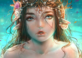 Water Princess by kalisami