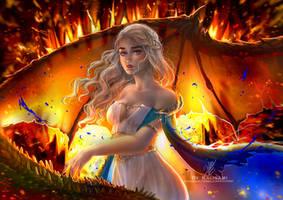 Daenerys by kalisami