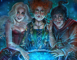 Hocus Pocus - Commission by kalisami