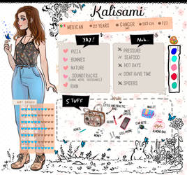 Meet the artist by kalisami