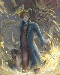 Fantastic Beasts by kalisami
