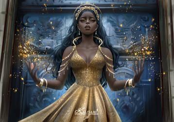 Gold Queen by kalisami