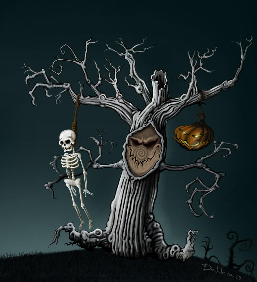 Marching tree by klori on DeviantArt