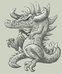 Dragon Croc by klori