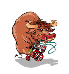 Bull_o_cycle by klori